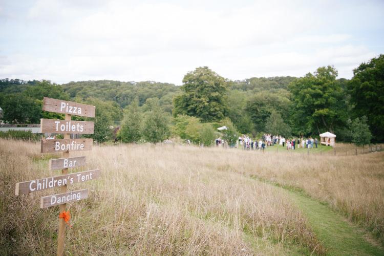 Humanist Field Bright DIY Wedding http://www.christyblanch.com/