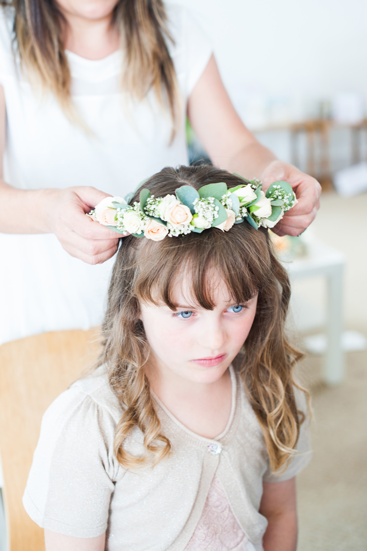 Flower Crown Flower Girl Stylish Beach Mermaid Wonderland Wedding http://www.sourceimages.co.uk/