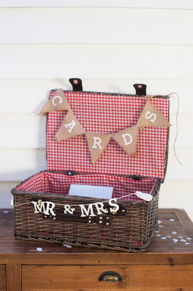 Card Hamper Basket Stylish Beach Mermaid Wonderland Wedding http://www.sourceimages.co.uk/