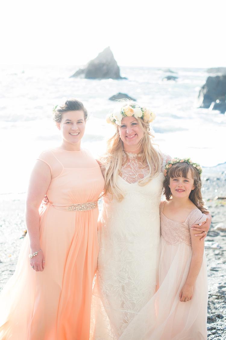 Peach Bridesmaid Dresses Stylish Beach Mermaid Wonderland Wedding http://www.sourceimages.co.uk/