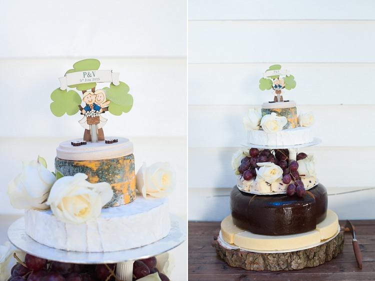 Cheese Tower Stack Cake Stylish Beach Mermaid Wonderland Wedding http://www.sourceimages.co.uk/