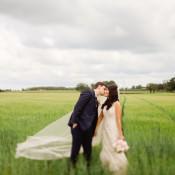 Relaxed & Rustic Lilac DIY Barn Wedding