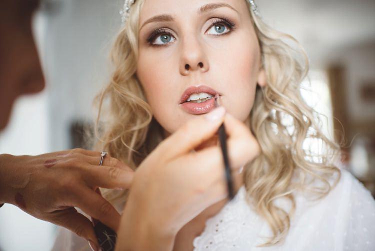 Bride Bridal Make Up Beauty Natural Whimsical Boho Woodland Wedding http://katmervynphotography.com/