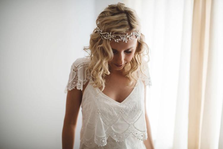 Forehead Headdress Jewellery Bride Bridal Whimsical Boho Woodland Wedding http://katmervynphotography.com/