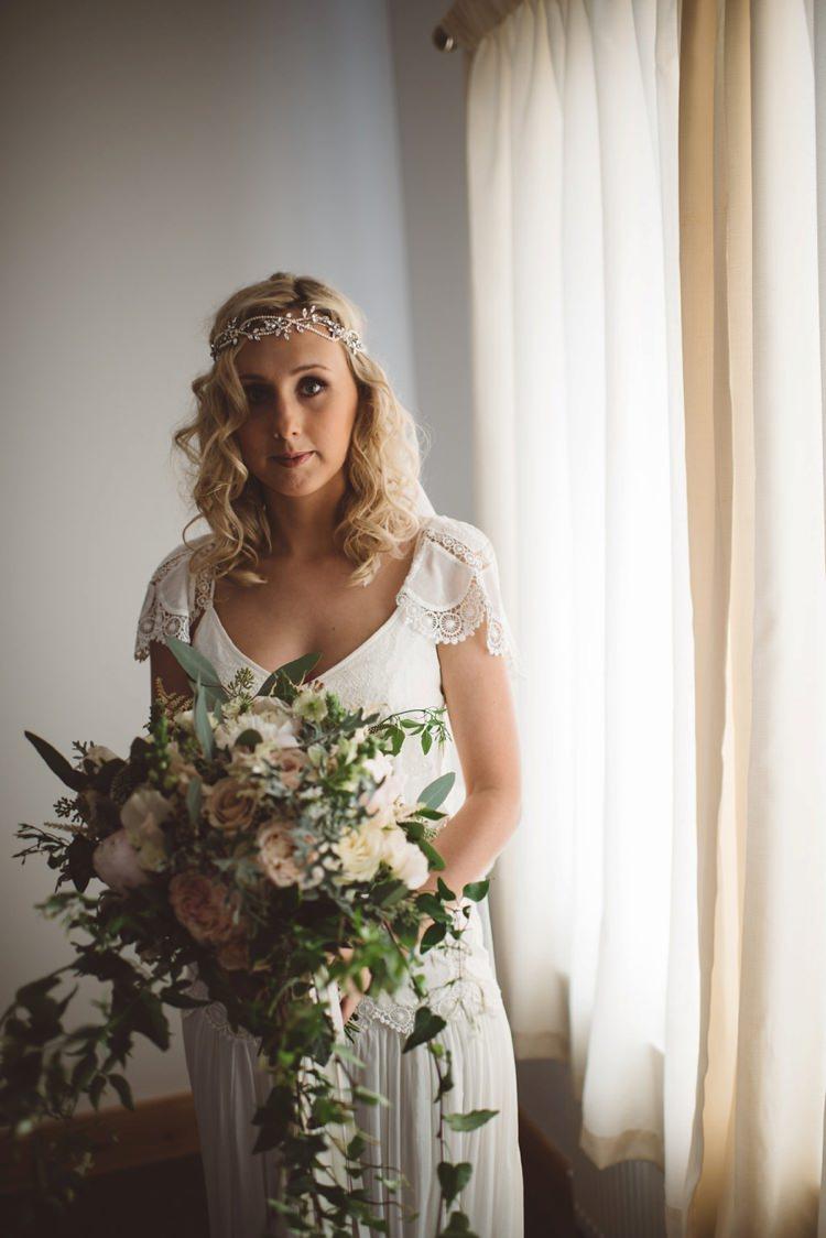 Eva Rue de Seine Dress Bride Bridal Whimsical Boho Woodland Wedding http://katmervynphotography.com/