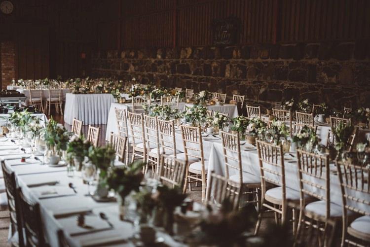 Long Tables Greenery Foliage Whimsical Boho Woodland Wedding http://katmervynphotography.com/