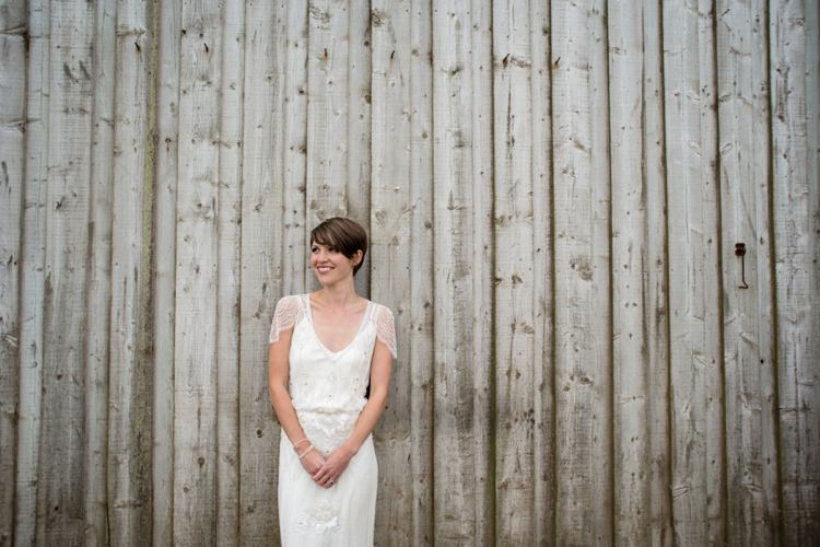 Eden by Jenny Packham Bride Bridal Dress Gown Beautiful Country Barn Relaxed Family Wedding http://hollybobbins.com/