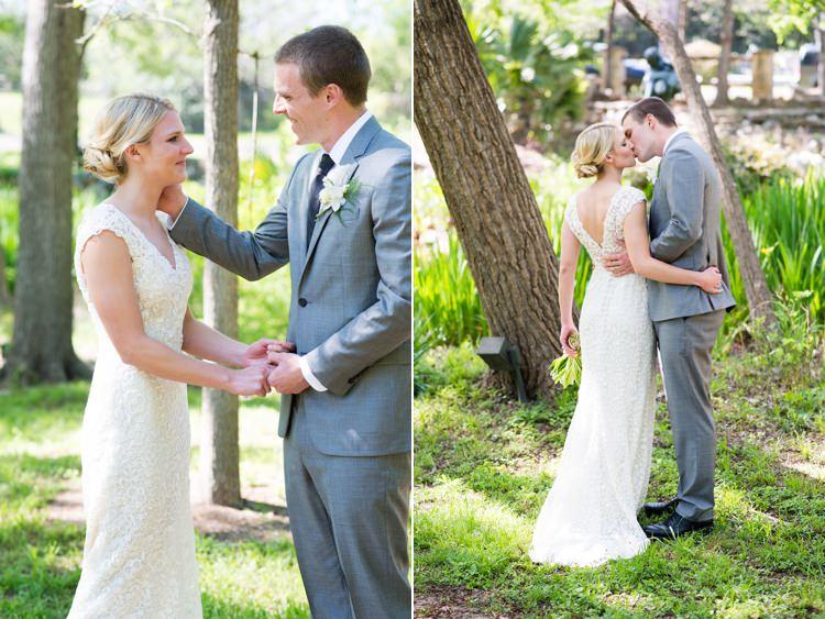 Modern Monochrome Sculpture Garden Wedding Texas http://www.coryryan.com/