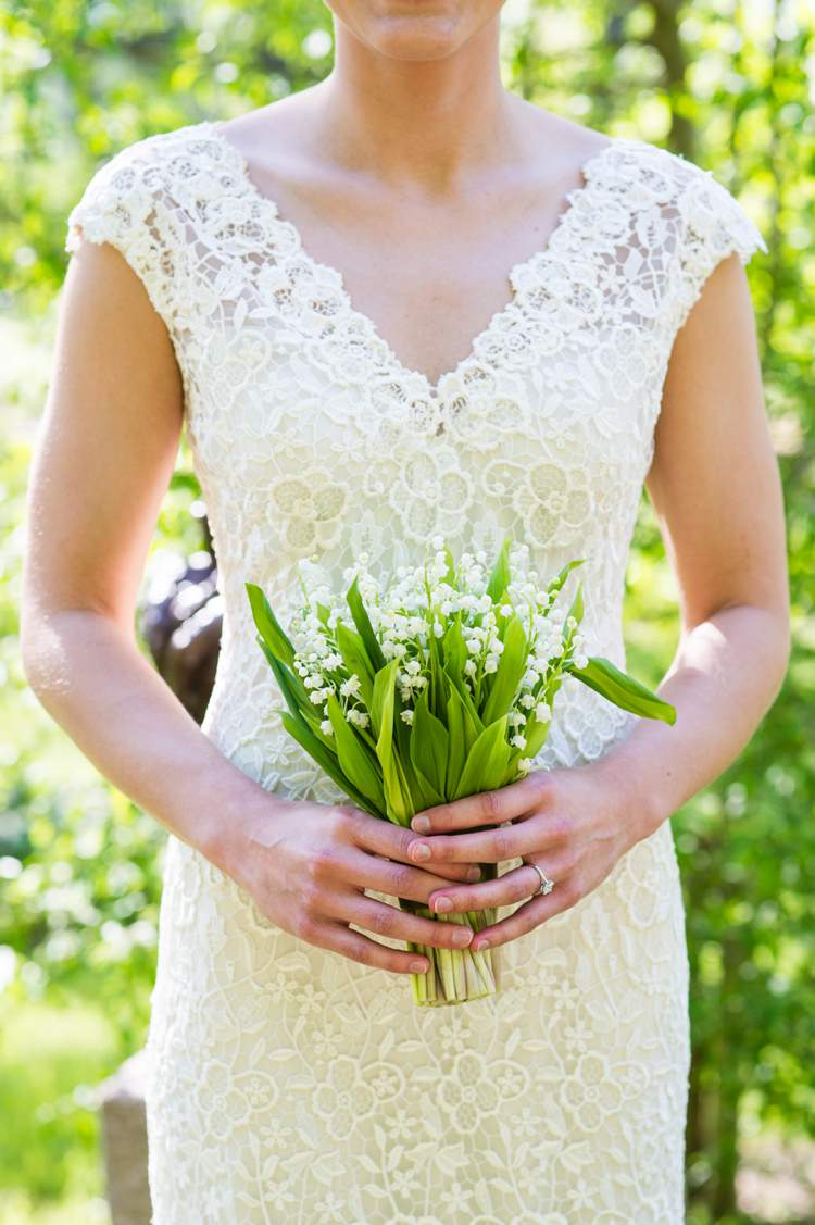 Lily of the Valley Bouquet Flowers Bride Bridal Modern Monochrome Sculpture Garden Wedding Texas http://www.coryryan.com/
