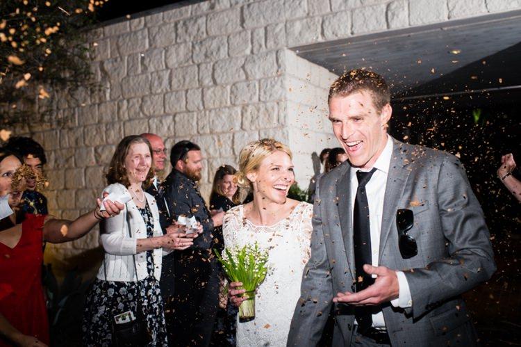 Confetti Modern Monochrome Sculpture Garden Wedding Texas http://www.coryryan.com/