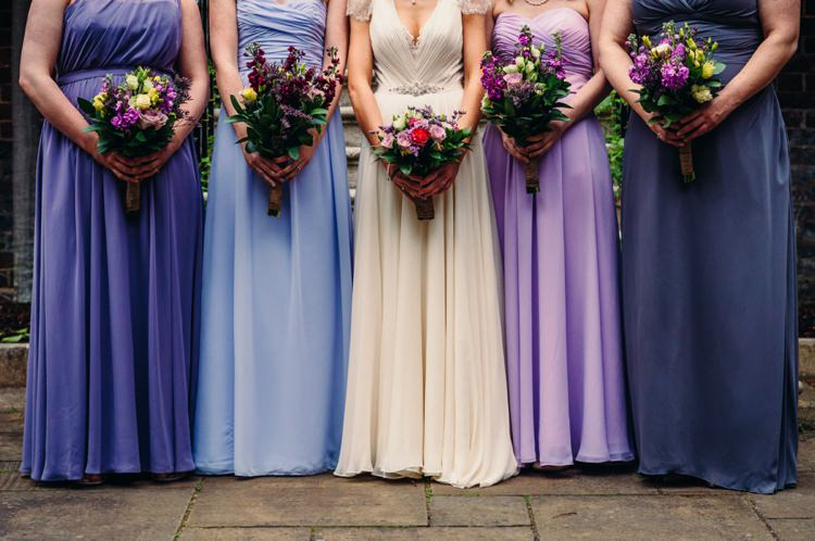Purple Long Bridesmaid Dresses Lavender Warehouse London Wedding http://www.babbphoto.com/
