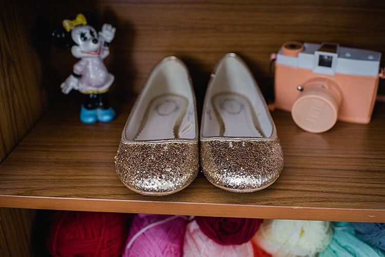 Gold Glitter Shoes Our Whimsical Woodland Wedding Ceremony UK http://alexa-loy.com/
