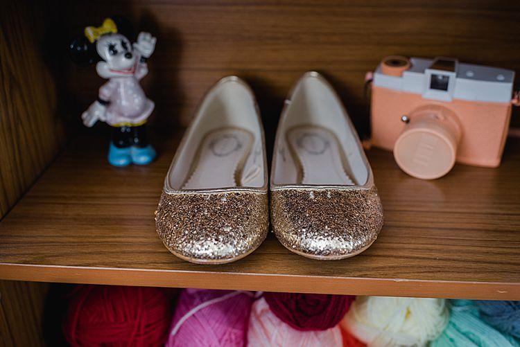 Gold Glitter Shoes Our Whimsical Woodland Wedding Ceremony UK http://alexa-loy.com/