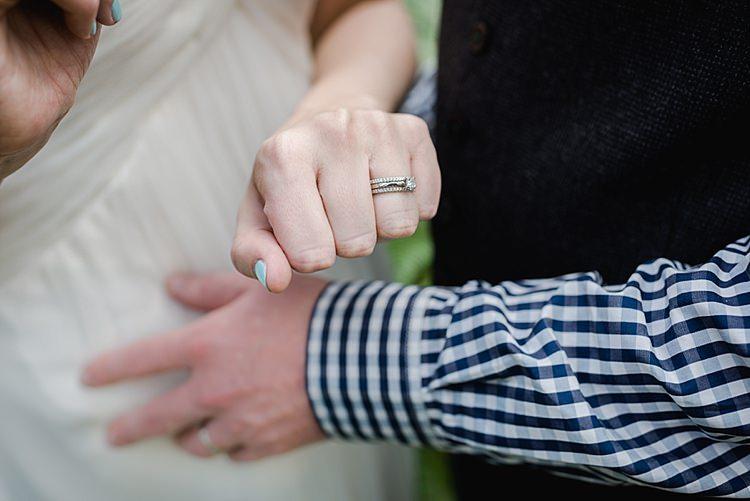 Rings Diamond Eternity Platinum Engagement Princess Our Whimsical Woodland Wedding Ceremony UK http://alexa-loy.com/