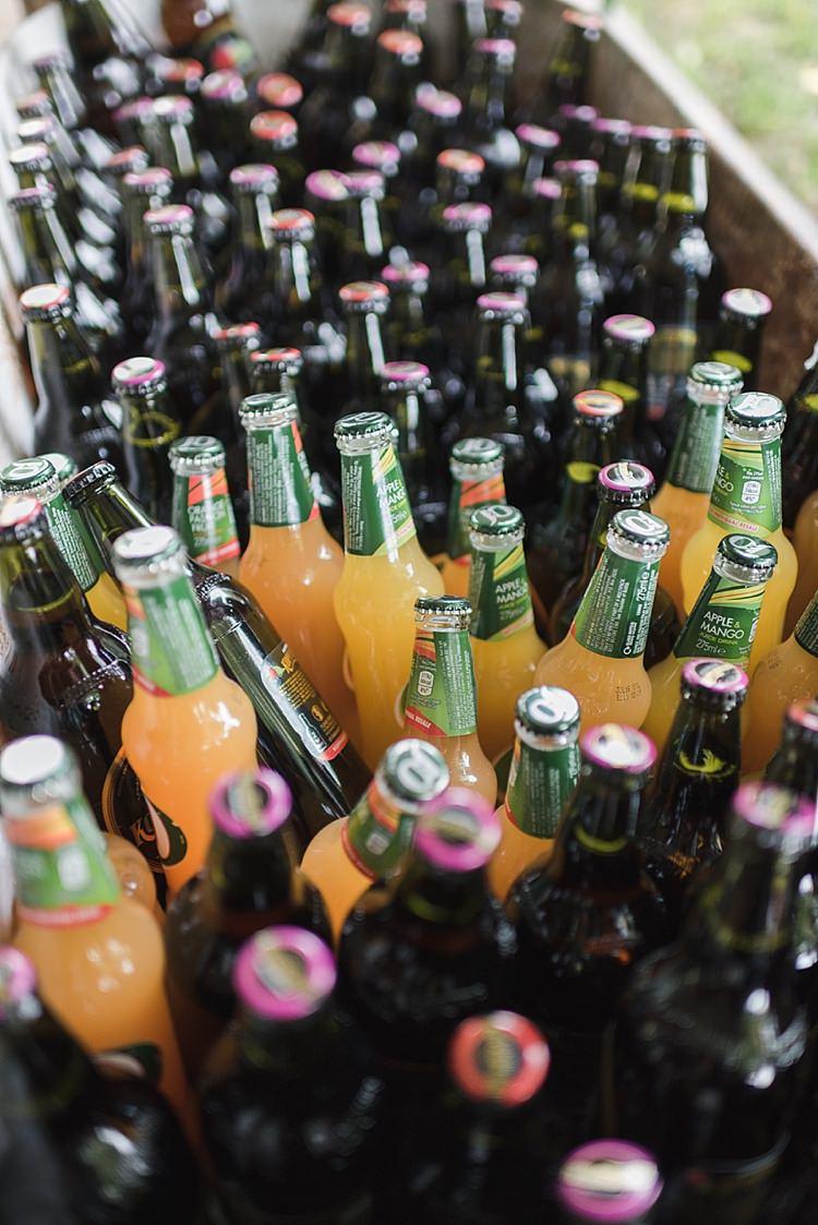 Booze Bath Cider J20 Colourful Rainbow Gold Camp Wedding Party http://alexa-loy.com/