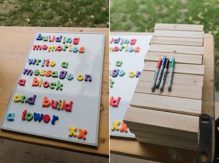Jenja Guest Book Sharpies Colourful Rainbow Gold Camp Wedding Party http://alexa-loy.com/