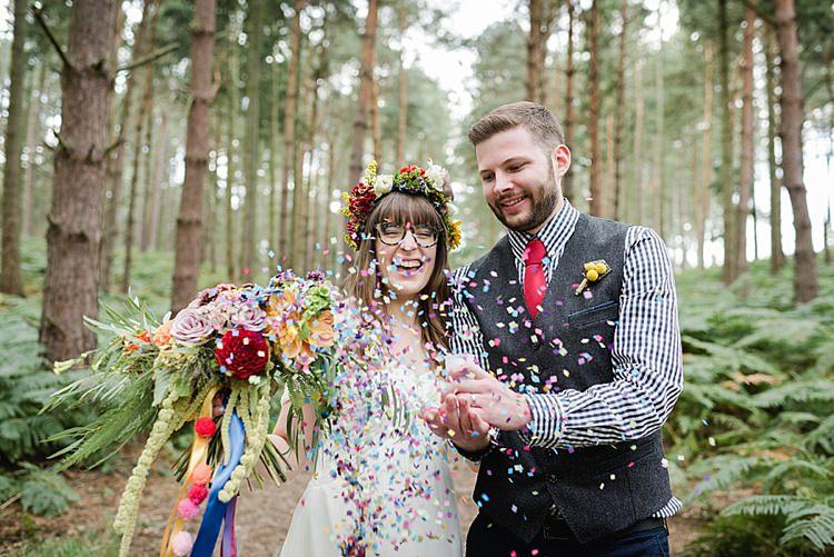 Our Whimsical Woodland Wedding Ceremony UK http://alexa-loy.com/