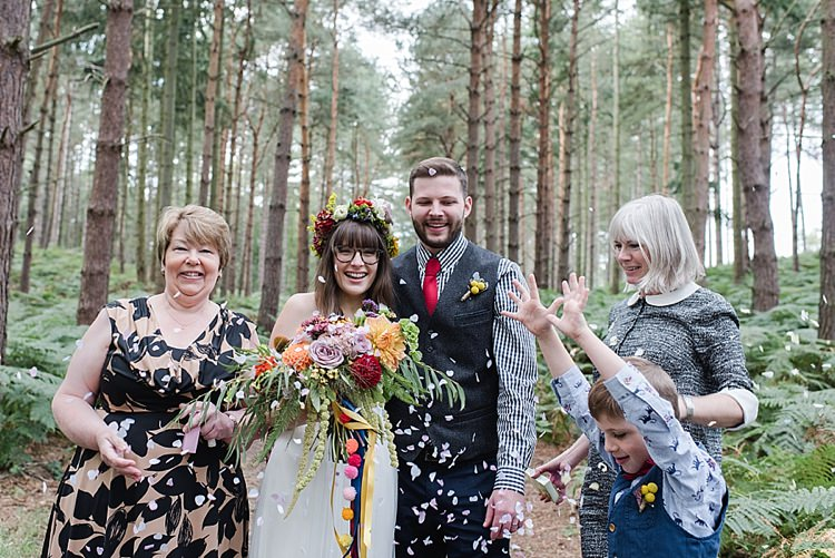 Confetti Throw Our Whimsical Woodland Wedding Ceremony UK http://alexa-loy.com/