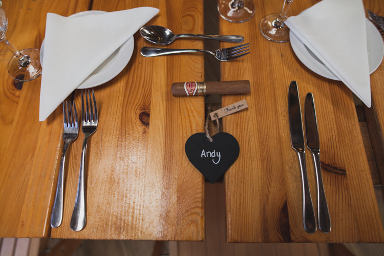 Blackboard Heart Place Name Table Setting Indie Rustic DIY Fun Wedding Party http://www.sallytphotography.com/