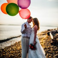 """Pixar's """"UP"""" Themed Trash The Dress Anniversary Photoshoot http://www.rebeccaannephotography.com/"""