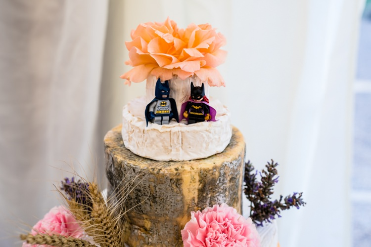 Batman Topper Geeky Outdoorsy Woodland Wedding http://www.daffodilwaves.co.uk/