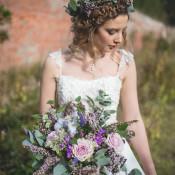 Feminine Bohemian Beautiful Bridal Ideas
