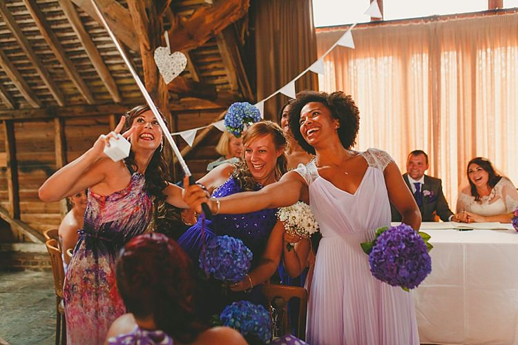 Diy Seaside Inspired Purple Farm Wedding Whimsical