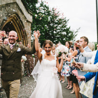 Local Fun Home Made Marquee Wedding http://www.alextentersphotography.co.uk/