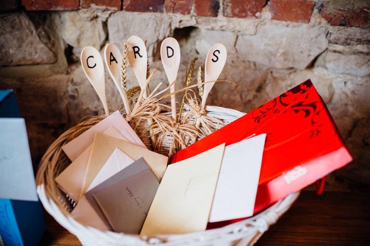 Card Basket Spoons Sweet Hand Crafted Crochet Barn Wedding http://www.mariannechua.com/
