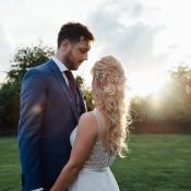 Pretty & Fresh White Summer Informal Wedding