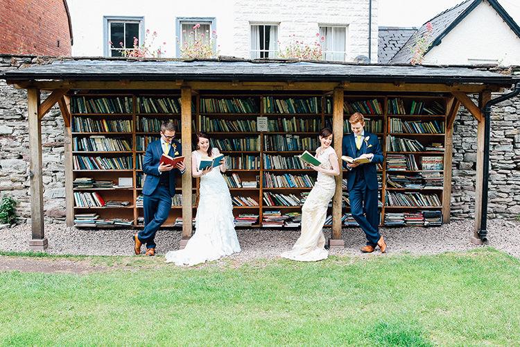 Double Twin Wedding http://www.michellehuggleston.com/