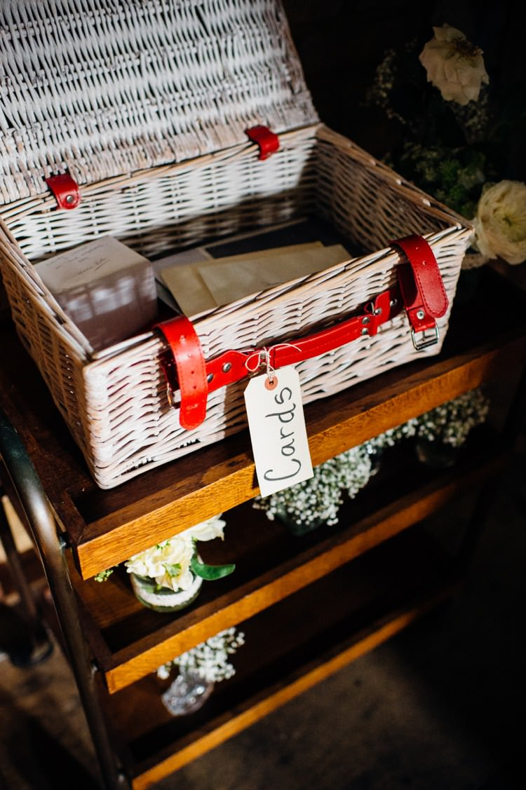 Wedding Hamper Basket Wicker Card Gift Holder Storage www.mariannechua.com