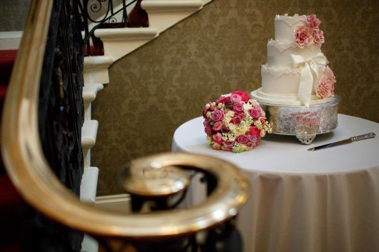 Melissa Woodland Cakes Wedding Luxury Guy Hearn Photography