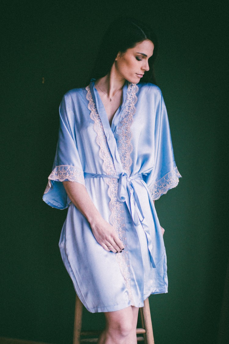 PJ'S LONDON Silk Nightwear Bride Bridal Wedding Honeymoon