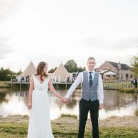 Stylish Outdoor Tipi Wedding http://www.danhoughphoto.com/