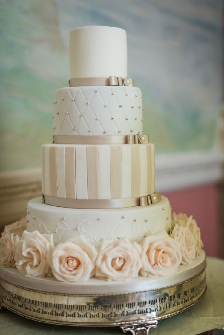 Melissa Woodland Cakes Wedding Luxury James Davies Photography