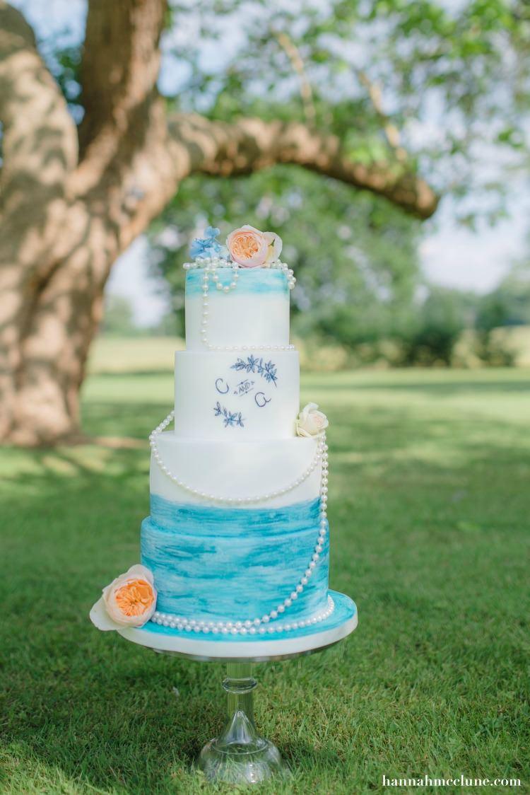 Melissa Woodland Cakes Wedding Luxury Hannahmclune.com