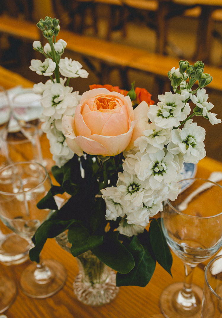 Stocks Roses Flowers Vase Centrepiece Country Crafty Colourful Weekend Party Wedding http://www.noeldeasington.com/