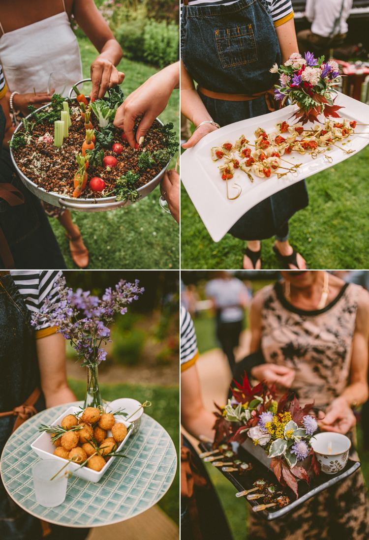 Canapes Food Country Crafty Colourful Weekend Party Wedding http://www.noeldeasington.com/