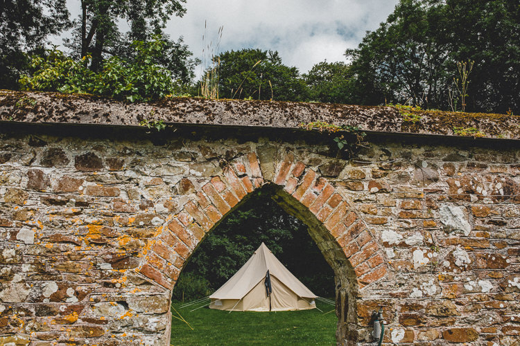 Bell Tent Camping Country Crafty Colourful Weekend Party Wedding http://www.noeldeasington.com/
