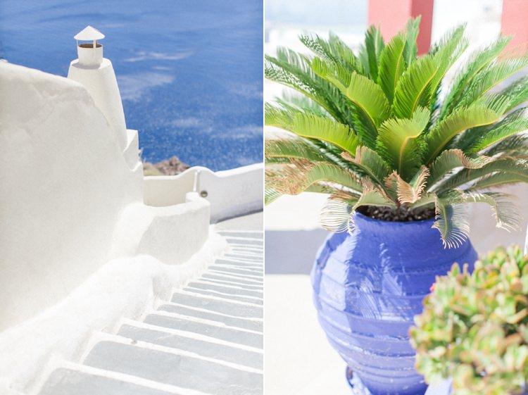 Bohemian Blue White Santorini Engagement http://www.robertafacchini.com/