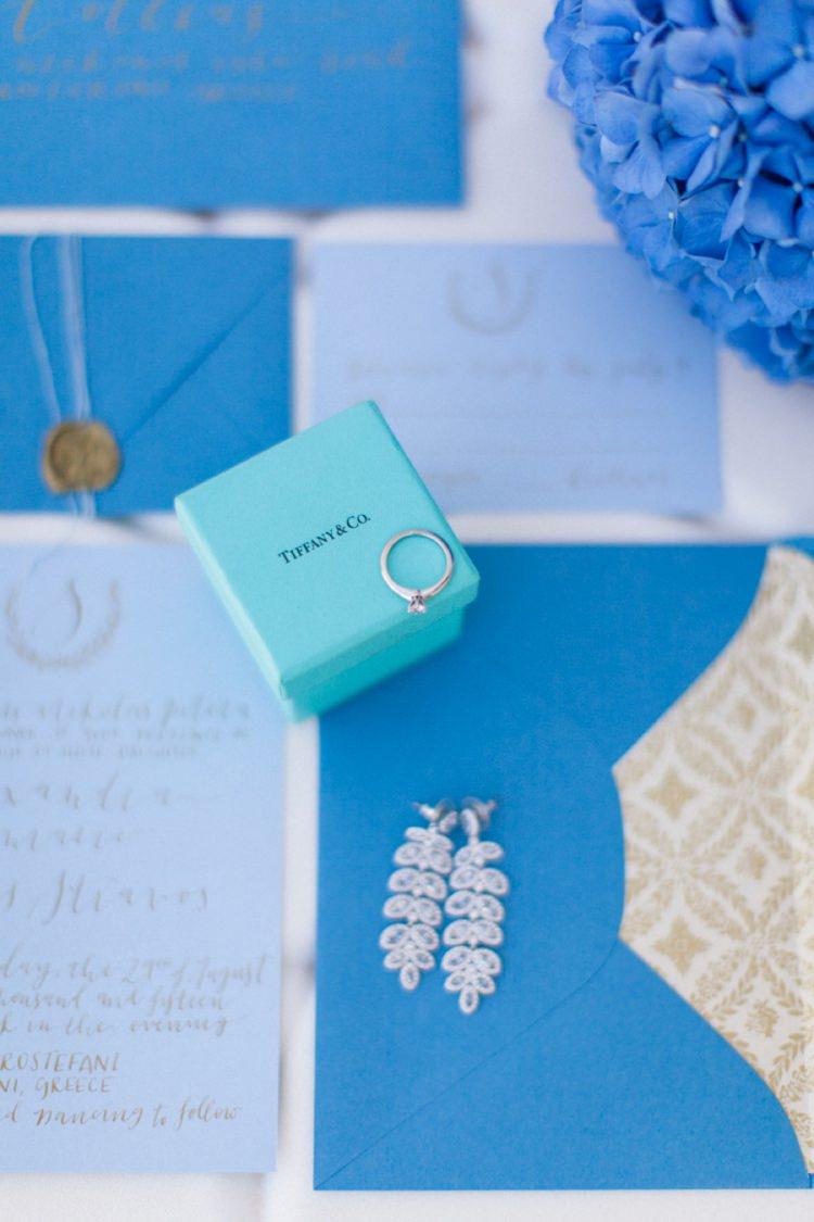 Tiffany Engagement Ring Bohemian Blue White Santorini Engagement http://www.robertafacchini.com/