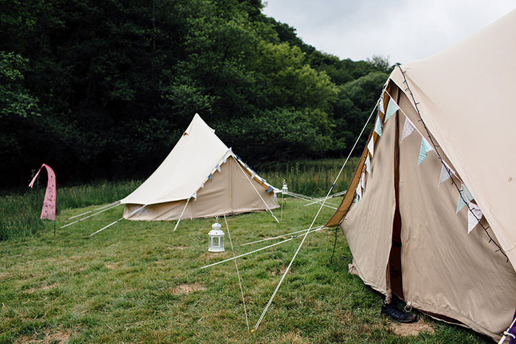 Bell Tents Woodland Farm Camping Weekend Wedding http://www.frecklephotography.co.uk/