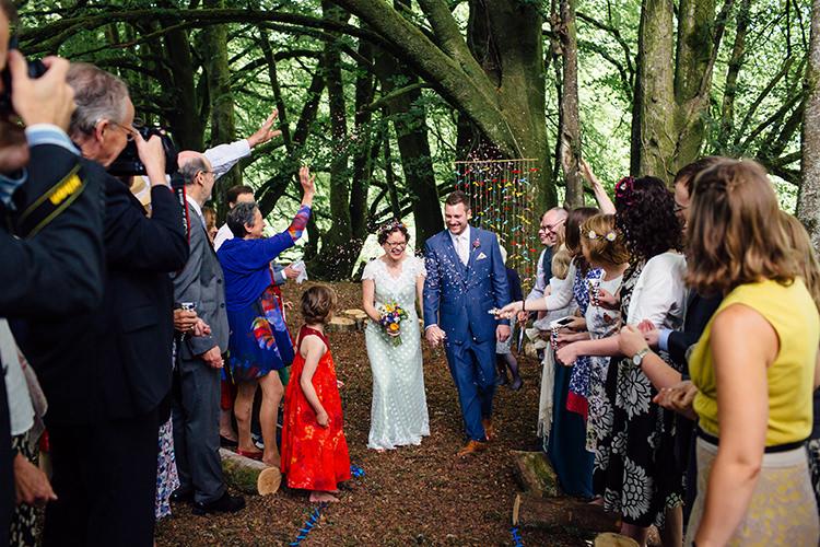 Confetti Woodland Farm Camping Weekend Wedding http://www.frecklephotography.co.uk/