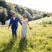 Alternative Woodland Farm Camping Weekend Wedding