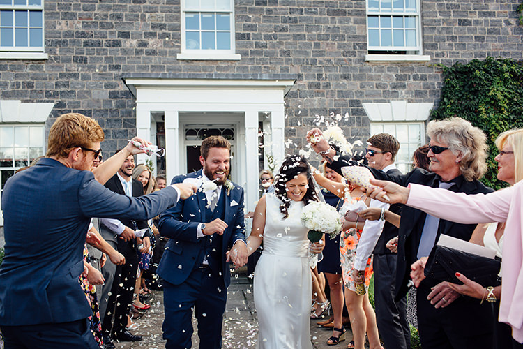 Confetti Throw Home Made Rustic Eclectic Wedding http://www.frecklephotography.co.uk/