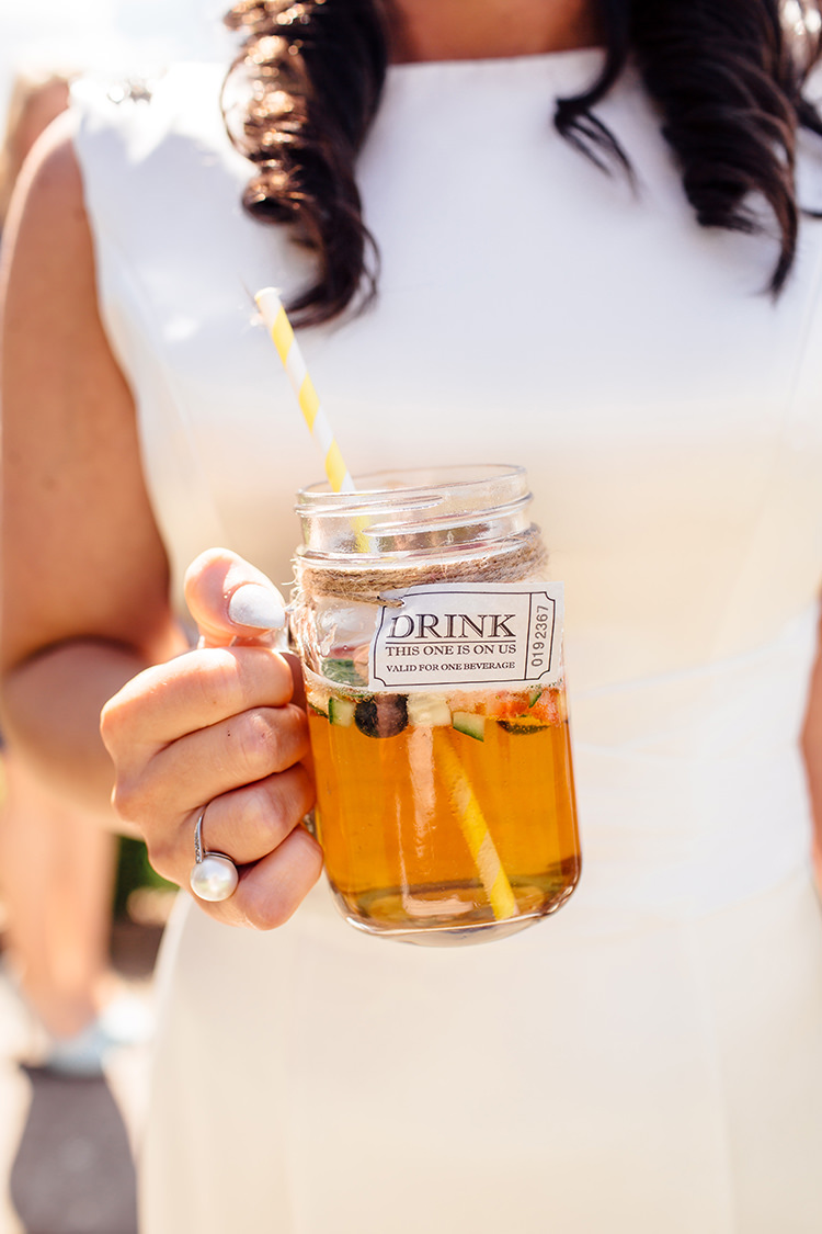 Jar Drinks Home Made Rustic Eclectic Wedding http://www.frecklephotography.co.uk/
