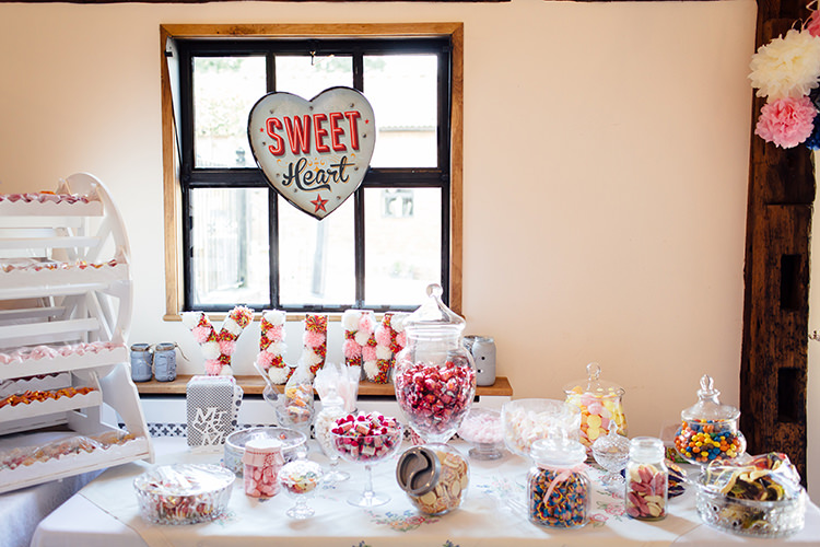 Sweet Sweetie Table Home Made Rustic Eclectic Wedding http://www.frecklephotography.co.uk/