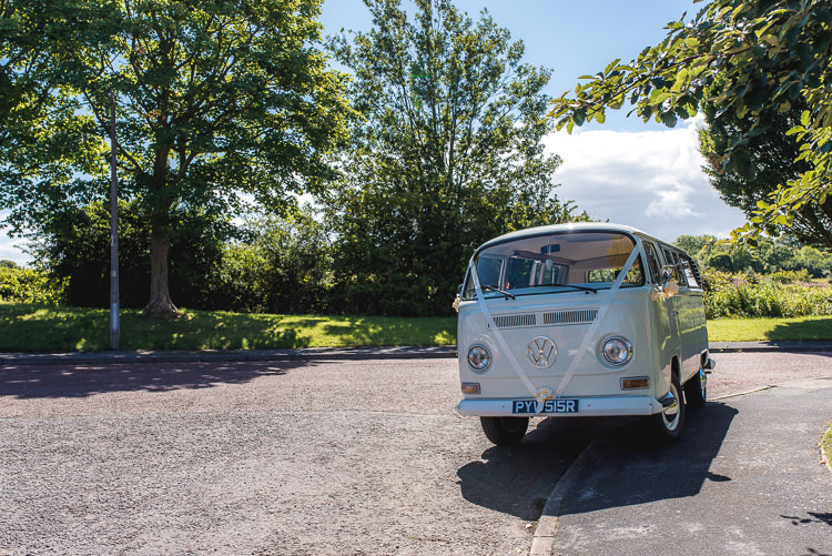 VW Camper Mismatched Farm Tipi Wedding http://www.andrewkeher.co.uk/