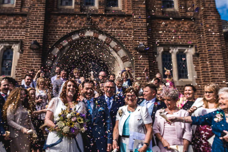 Confetti Throw Mismatched Farm Tipi Wedding http://www.andrewkeher.co.uk/